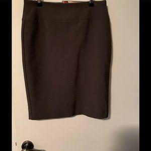 Gray Alfani Pencil Skirt Size 4 Never Worn!